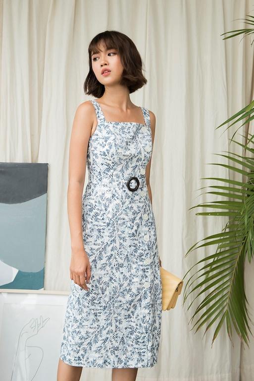 Váy 2 quai thắt đai