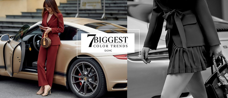 7 biggest color trends of Fall-Winter 20